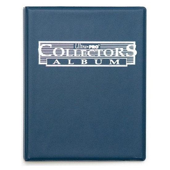 Ultra Pro Collectors Album - Portfolio Bleu 9 pocket navy