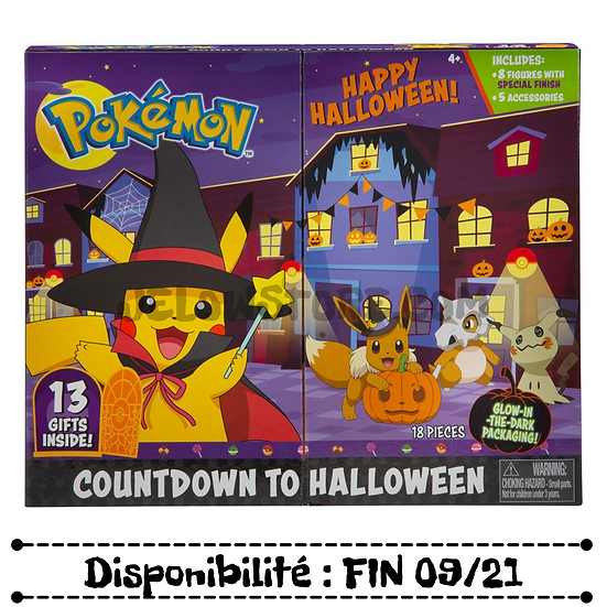 BOTI - Pokémon Calendrier d'Halloween 2021