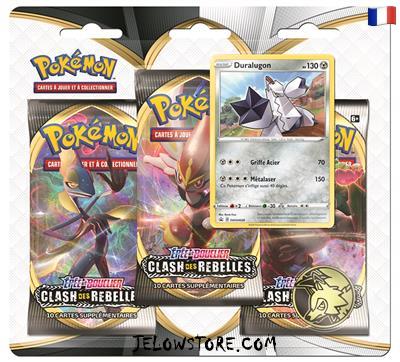 tripack pokemon clash des rebelles duralugon