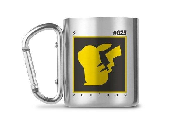 Mug Pokémon MOUSQUETON 240ML - Pikachu 025
