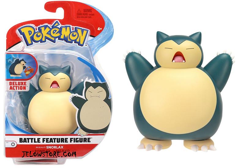 figurine pokemon ronflex