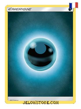 carte pokemon energie de base obscurité