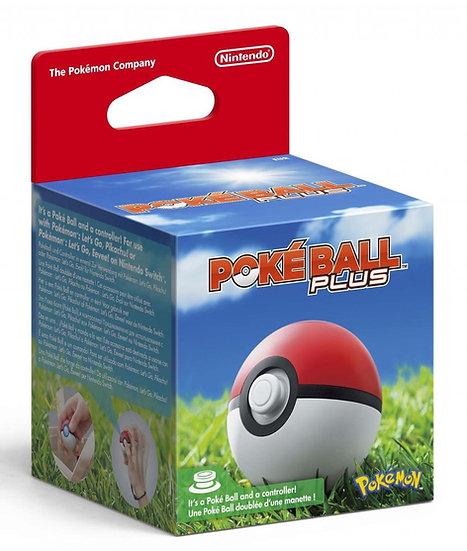 Nintendo Switch Pokémon - Manette Poke Ball Plus