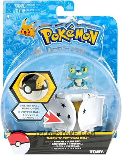 Pokémon [Pokéball Throw 'n' Pop]: Grenousse