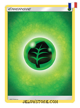 carte pokemon energie de base plante