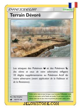 TERRAIN DEVORE 93/111 FR [SL4 INVASION CARMIN]