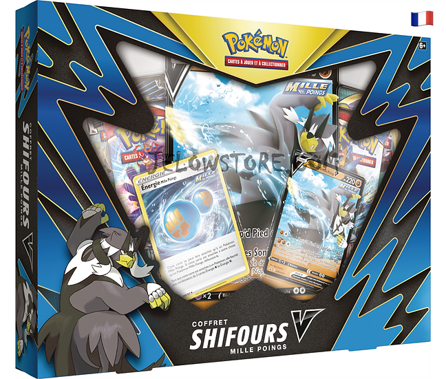Coffret 4 boosters [SHIFOURS MILLE POINGS-V] FR