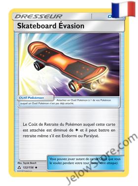 SKATEBOARD D'EVASION 122/156 FR [SL5 ULTRA PRISME]