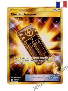 Carte Pokémon SL9 Duo de Choc Electrochargeur Secrète 193/181