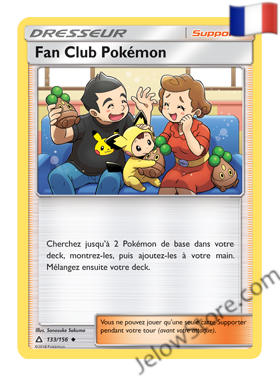 FAN CLUB POKEMON 133/156 FR [SL5 ULTRA PRISME]