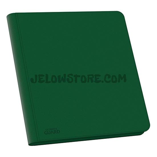 Portfolio 12-Pocket QuadRow ZipFolio XenoSkin 480 [Ultimate Guard] - Vert