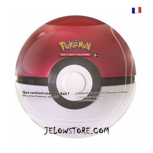 Poké Ball Tin 3 boosters [POKE BALL] FR