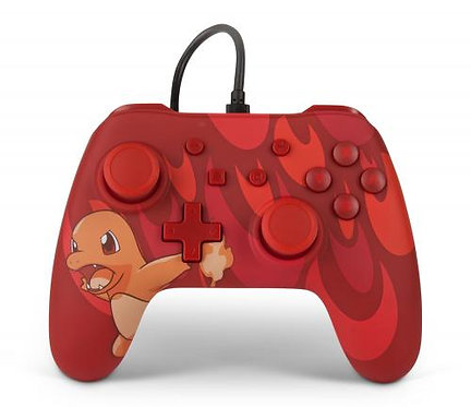 Manette Nintendo Switch: POWER A - WIRED CONTROLLER POKEMON TOTAL SALAMECHE