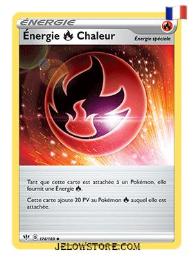 ENERGIE CHALEUR 174/189 FR [EB03 TENEBRES EMBRASEES]