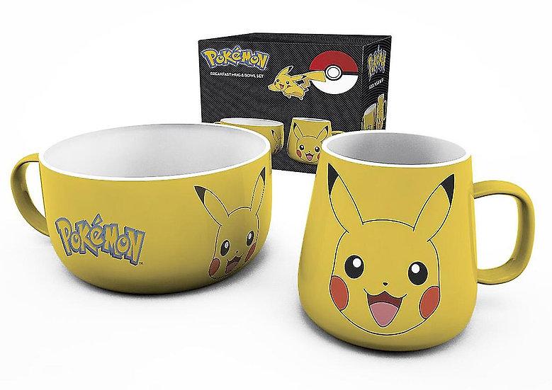 Set Petit-déjeuner Pokémon - Pikachu