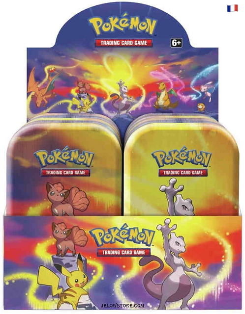 Display - 10 x Kanto Power Mini Tin FR