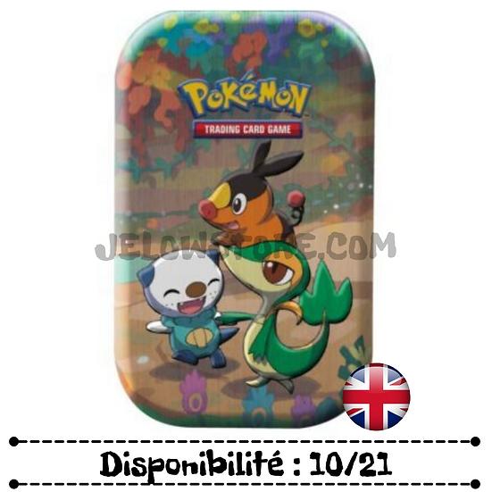 Pokémon TCG: Celebrations Mini Tins - Snivy / Tepig / Oshawott [AN]