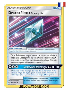 DRACOZELITE: DRACOGRIFFE 190/236 FR [SL12 ECLIPSE COSMIQUE]