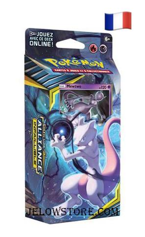 Pokémon Deck à Theme SL10 Alliance Infaillible Mewtwo FR Esprit Combattant