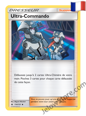 ULTRA COMMANDO 114/131 FR [SL6 LUMIERES INTERDITES]