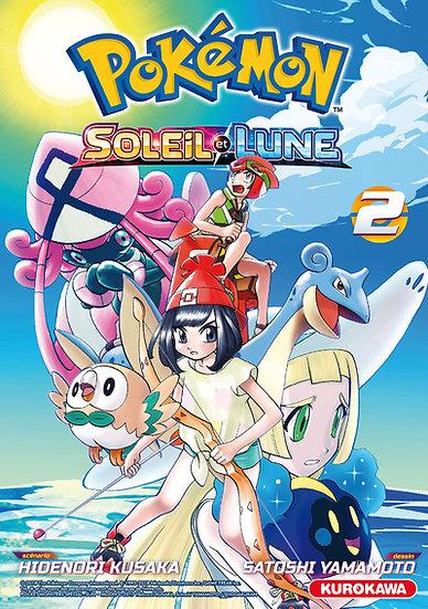 manga pokemon soleil et lune tome 2 fr