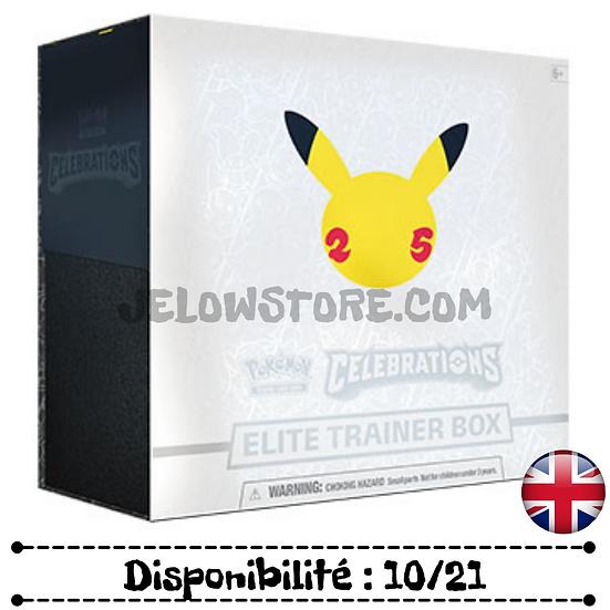 Pokémon TCG: Celebrations Elite Trainer Box [AN]