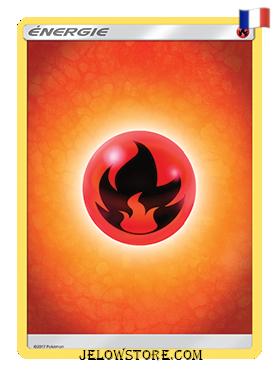 carte pokemon energie feu