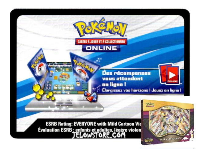 Code Online Pokémon - 1x Coffret Ultra-Necrozma-GX [SL7.5]