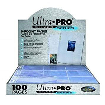Boîte de 100 feuilles de rangement Ultra-Pro Silver Series