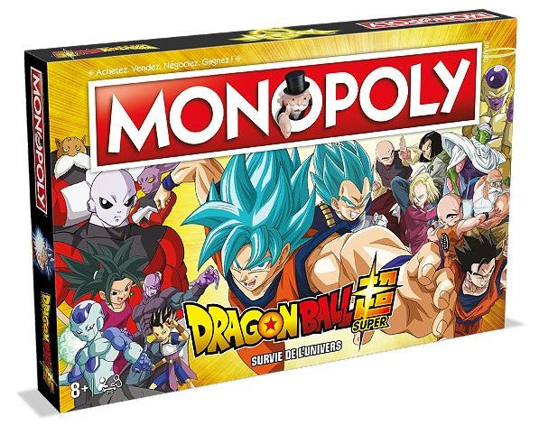 MONOPOLY - DRAGON BALL SUPER - Survie de l'Univers [FR]