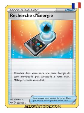 RECHERCHE D'ENERGIE 161/202 FR [EPEE ET BOUCLIER]