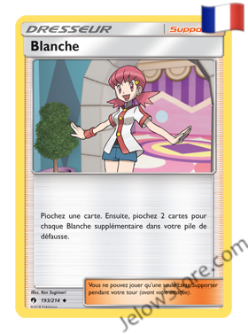 BLANCHE 193/214 FR [SL8 TONNERRE PERDU]