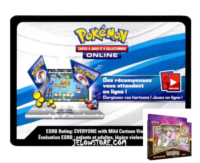 Code Online Pokémon - 1x Coffret Collection avec Pin's Mewtwo [SL11.5]
