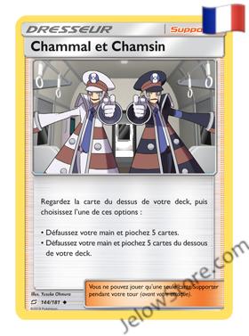 CHAMMAL ET CHAMSIN 144/181 FR [SL9 DUO DE CHOC]