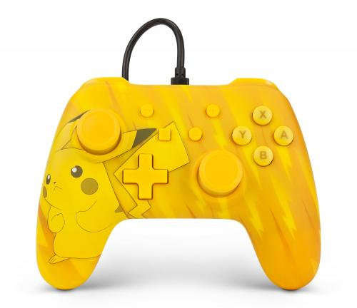 Manette Nintendo Switch: POWER A - WIRED CONTROLLER POKEMON TOTAL PIKACHU