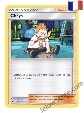 CHRYS 65/73 FR [SL3.5 LEGENDES BRILLANTES]