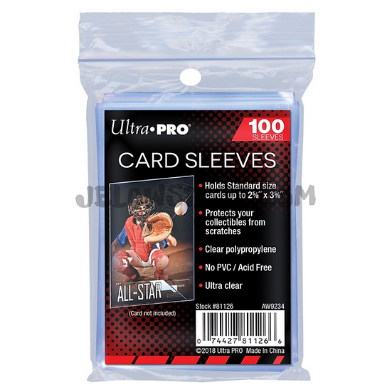 [Ultra PRO] 100 protège-cartes / Sleeves souples - Taille Standard