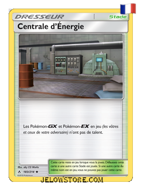 CENTRALE D'ÉNERGIE 183/214 FR [SL10 ALLIANCE INFAILLIBLE]