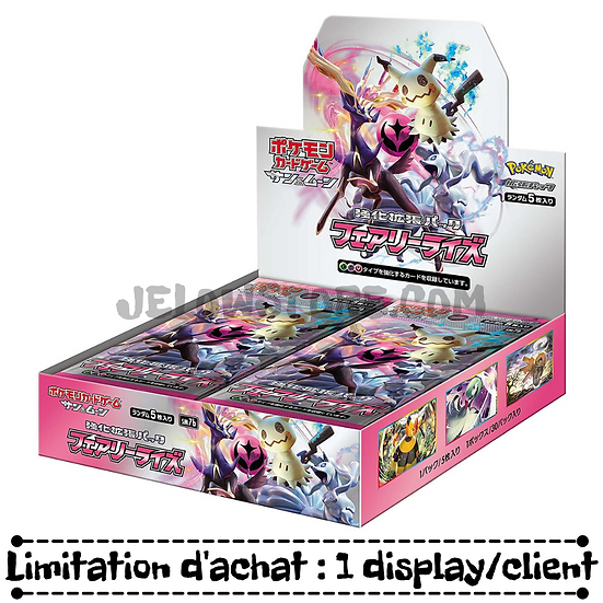 """TCG JAP - """"FAIRY RISE"""" Box - 30 boosters"""