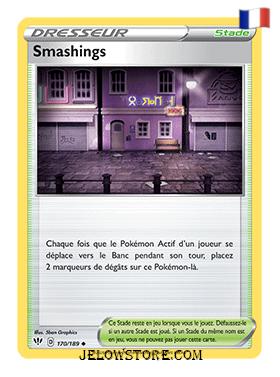 SMASHINGS 170/189 FR [EB03 TENEBRES EMBRASEES]