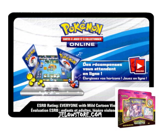 Code Online Pokémon - 1x Coffret Collection avec Pin's Mew [SL11.5]