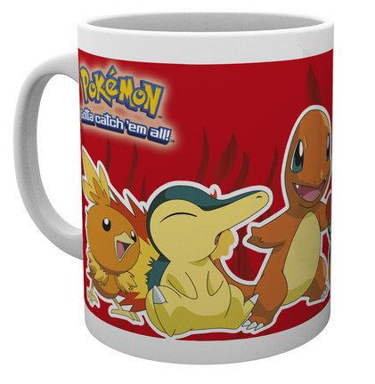 Mug Pokémon 300 ML - FIRE PARTNERS