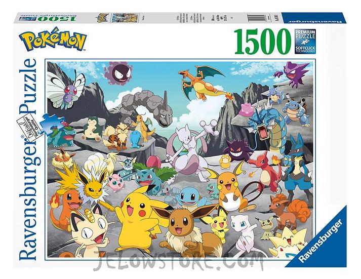 Ravensburger Puzzle Pokémon - Classics 1500 pièces