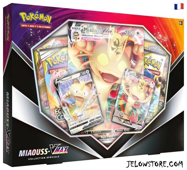coffret pokemon miaouss-VMAX