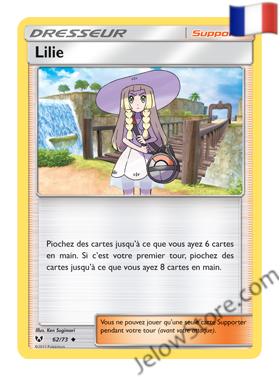 LILIE 62/73 FR [SL3.5 LEGENDES BRILLANTES]
