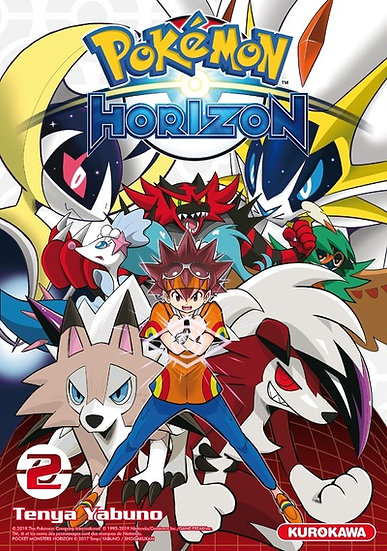 pokemon horizon tome 2