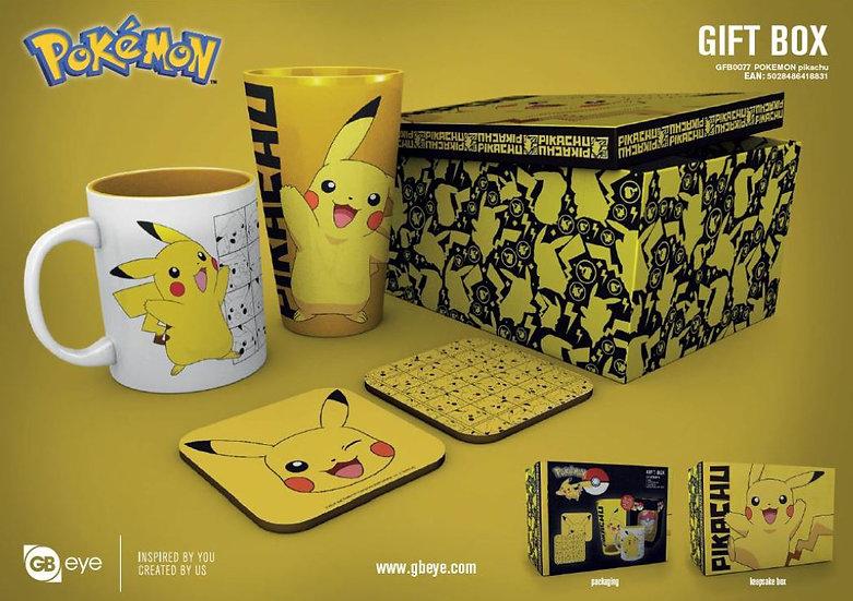Coffret Cadeau Pokémon - Pikachu