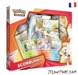 Coffret Preview - Collection Galar - Zacian V - Flambino [FR]