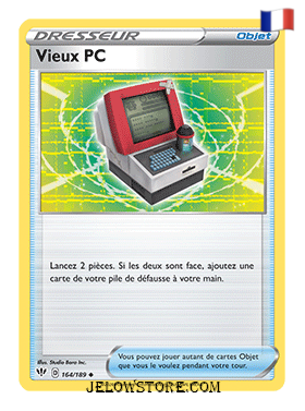 VIEUX PC 164/189 FR [EB03 TENEBRES EMBRASEES]