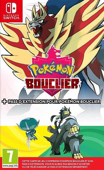 Nintendo Switch Pokémon Bouclier + Pass d'Extension FR